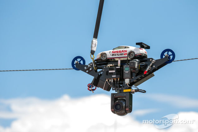 Check Out Nissan's Awesome Pit Lane Camera at LeMans