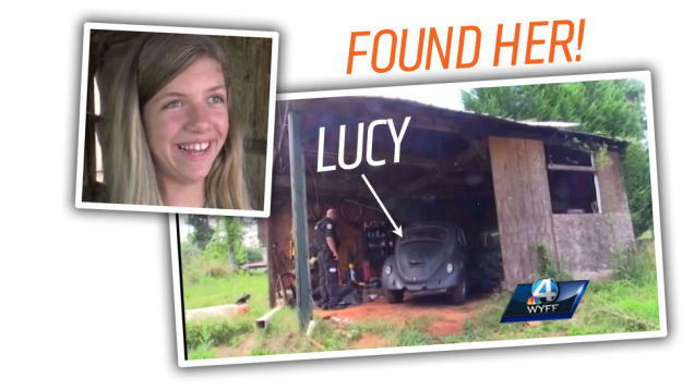 Good News! 10-Year-Old Girl's Stolen Beetle Has Been Recovered!