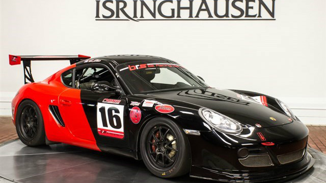 You Can Now Buy Ryan Eversley's Porsche Cayman Race Car